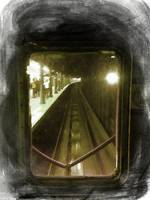 Through The Last Subway Car Window