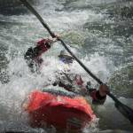 """Whitewater Kayaker, South Fork American River"" by SederquistPhotography"