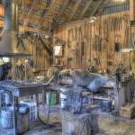 """Blacksmith Shop, Tallac Mansions"" by SederquistPhotography"
