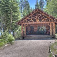 Historic Cabin, Tallac, Lake Tahoe Art Prints & Posters by Betty Sederquist