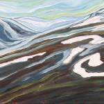 """Kaslo Winter Skyline"" by DreamGallery"