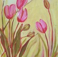Pink Tulips right