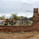 """Cemetery At  the Isleta Pueblo"" by PaulCoco"