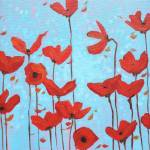 """Poppies in Bloom"" by DreamGallery"
