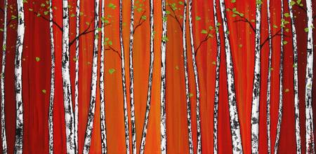 Red Birch Woods