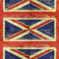 British Flag Collage Two Art Prints & Posters by Michelle Calkins