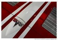 1963 Chevrolet Corvette Hood Red