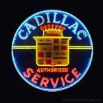 """Cadillac Neon Sign"" by Automotography"