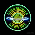 """Oldsmobile Neon Sign"" by Automotography"