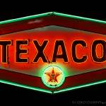 """Texaco Neon Sign"" by Automotography"