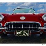 """1958 Chevrolet Corvette - Red"" by Automotography"