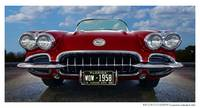 1958 Chevrolet Corvette - Red