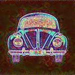 """VW Bug Groovy"" by Automotography"