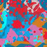 """ORL-722 Multycolor Abstract Painting"" by Aneri"