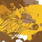 """ORL-746 yellow-brown fish"" by Aneri"