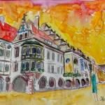 """AQ_Munich_Hofbrauhaus_Sunset_Am_Platzl"" by arthop77"