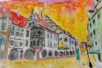 AQ_Munich_Hofbrauhaus_Sunset_Am_Platzl