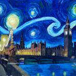 """Starry_Night_London_Parliament_Van_Gogh_Inspiratio"" by arthop77"