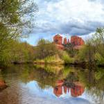 """Cathedral Rock Reflection"" by jameseddy"