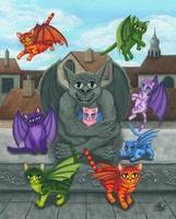 The Guardian Gargoyle - Kitten Sitter