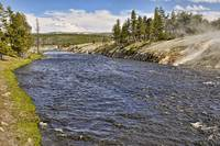 A River In Yellowstone