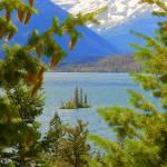"""Wild Goose Island - Saint Mary Lake"" by artsandi"