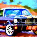 """Shelby GT 350 H"" by ArtbySachse"