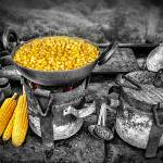 """""""Corn on Fire"""" by Charuhas"""