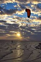 Kite Surfer on Tampa Bay 12168