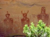 Three Petroglyphs