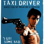 """Taxi_driver-blueandblack"" by DanAvenell"