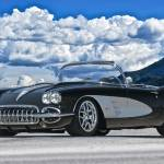"""1958 Corvette Resto Roadster"" by FatKatPhotography"