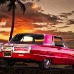 """1966 Thunderbird at Sunset"" by FatKatPhotography"