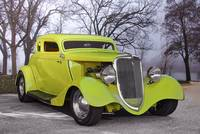1934 Ford Chopped Coupe '3Q Pass Side'