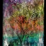 """28a Abstract Floral Painting Digital Expressionism"" by Ricardos"
