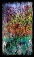 28a Abstract Floral Painting Digital Expressionism