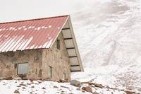 Shelter at Chimborazo Mountain in Ecuador