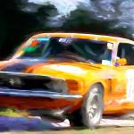 """Parnelli Jones Trans Am Mustang"" by ArtbySachse"