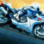 """""""motorcycle"""" by ArtbySachse"""