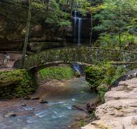 Bridge at Old Man's Cave in Hocking Hills-IMG_6543