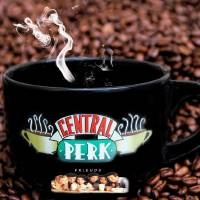Central Perk Cup Art Prints & Posters by Pat Cook