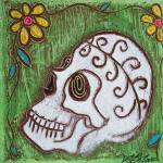 """Tribal Skull"" by ArtPrints"