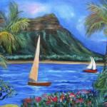 """""""Aloha Diamond Head 11"""" by jennylee"""