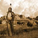 """Native_American_When_the_Buffalo_Roamed_IMG"" by spadecaller"