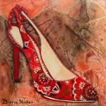 """""""Kick Up Your Calico Heels"""" by DianaNadalFineArt"""