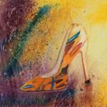 """My Easter Pump"" by DianaNadalFineArt"