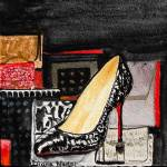 """Classic Snakeskin Pump and Purses"" by DianaNadalFineArt"
