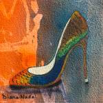 """Colors of the Rainbow Pump"" by DianaNadalFineArt"