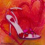 """""""Be My Valentine Pump"""" by DianaNadalFineArt"""