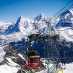 """switzerland alps schilthorn bahn cable car"" by TomJelen"